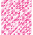 pink grunge mosaic vector image vector image