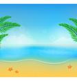 summer beach28 vector image vector image