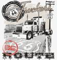 truck route66 Arizona vector image vector image