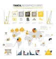 Money finance infographics vector image