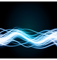 Abstract waveform background