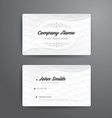 Business card template modern abstract vector image vector image