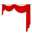 Curtain Mesh vector image vector image