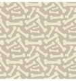Dog bone pattern vector image vector image