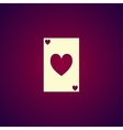 Playing Card Suit Icon Symbol Set vector image vector image