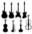 set string instruments vector image