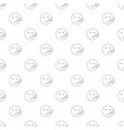 sleep smile pattern seamless vector image vector image