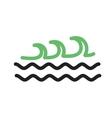 Waves I vector image