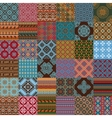 ethnic seamless textures vector image