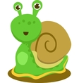 Featuring Happy Snail vector image
