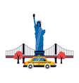 new york city vector image vector image