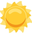 Sun Isolated vector image