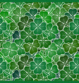 clover leaves seamless vector image