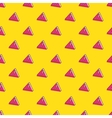 attention signs seamless pattern vector image