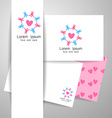 community logo template vector image vector image
