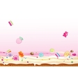 Crazy candies vector image vector image