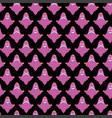 ghost cartoon halloween seamless pattern vector image