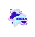 gradient abstract banners with flowing shapes vector image