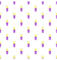 Shaving brush pattern cartoon style vector image vector image