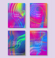 vibrant backgrounds for cover design lines vector image