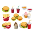 fastfood vector image