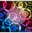 lights background vector image