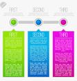 Progress infographics vector image