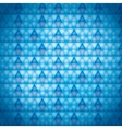 background blue triangles vector image vector image