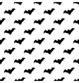 Bat pattern seamless vector image