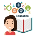 education concept design vector image vector image
