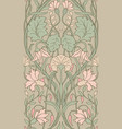 floral pattern for wallpaper vector image