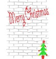 Grafffiti Christmas vector image