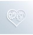 love gears 3 vector image vector image