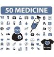 medicine signs vector image