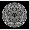 ornamental round lace pattern circle background
