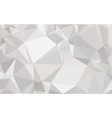 polygon white gradient background vector image vector image