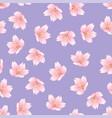 prunus serrulata outline - cherry blossom sakura vector image vector image