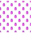 Shaving cream pattern cartoon style vector image vector image