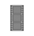 tape film record design vector image vector image