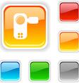Video button vector image vector image