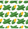 cabbage seamless pattern background for food vector image