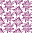 abstract seamless floral scroll patterns rhombus vector image vector image