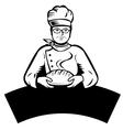 Cartoon baker