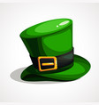 flat design on saint patrick s day vector image vector image