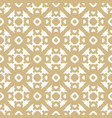 golden seamless pattern in asian abstract style vector image vector image