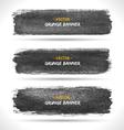 Grunge banners set