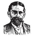 henry jackson van dyck vintage vector image vector image