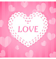love heart 1 vector image vector image
