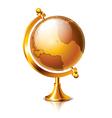 object vintage globe vector image