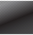 pattern perforation metal background vector image